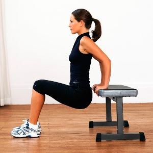 Отжимания от скамьи - Как быстро накачать мышцы