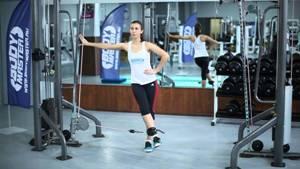 Упражнения для ног в кроссовере