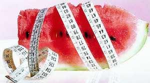 Арбузная диета помогает человеческому организму избавляться от лишних калорий